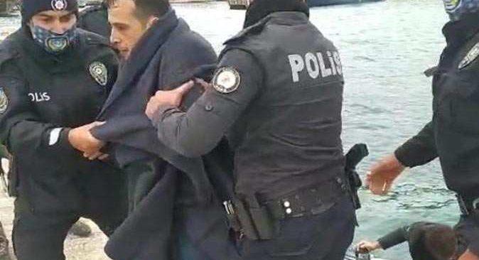 Antalya falezlerde hareketli dakikalar! Polis alarma geçti