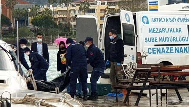 Antalya'da denizde bulunan cesedin kimlik teşhisi yapıldı