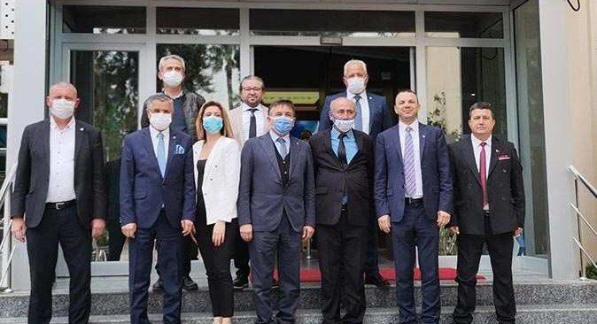 DEVA Partisi Genel Başkan Yardımcısı Uçak Başkan Topaloğlu'nu ziyaret etti