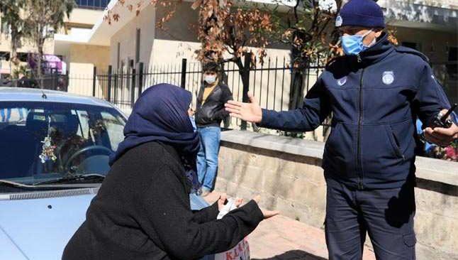 Antalya'da dilencilere operasyon