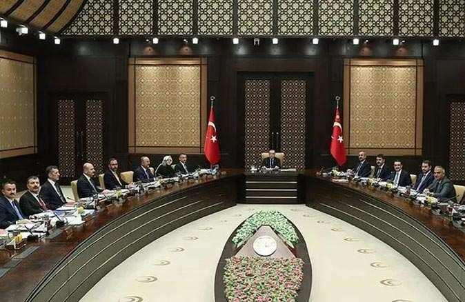 Son Dakika: Cumhurbaşkanlığı Kabine toplantısı başladı