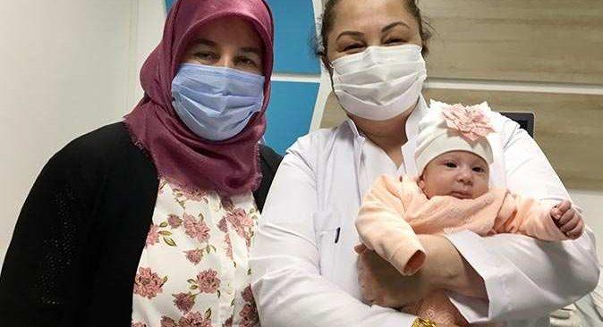 Eslem bebek yaşam mücadelesini kazandı