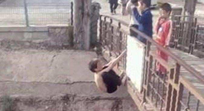 Antalya'da çocuk ölüme meydan okudu! Görüntüyü çeken kişiye tepki yağdı