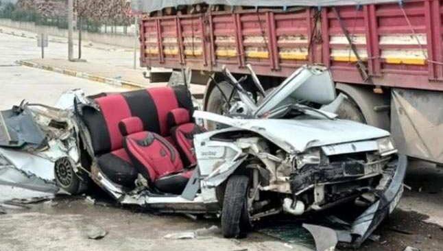 Organize Sanayi bölgesinde feci kaza