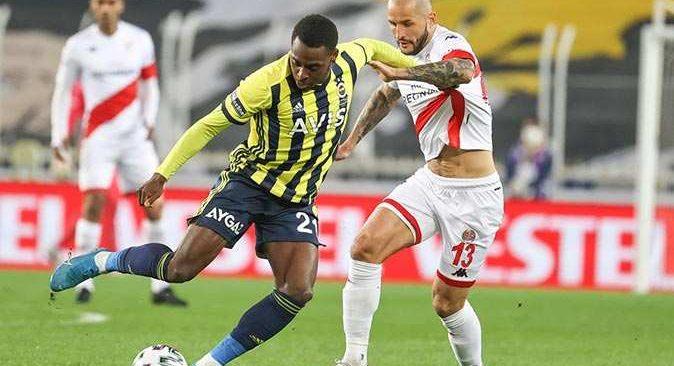 SON DAKİKA! Fenerbahçe Antalyaspor ile berabere kaldı
