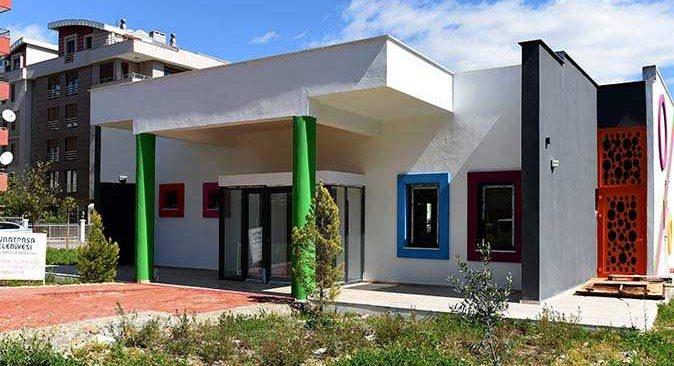 Muratpaşa'nın oyun evi inşaatı tamamlandı