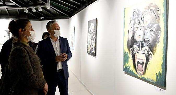 Aydın Kanza Sanat Galerisi 'buluşma' sergisiyle açıldı