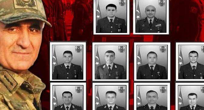 Kahramanlara Ankara'da acı veda...
