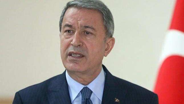 Bakan Akar: Sözde liderleriyle birlikte 25 terörist etkisiz hale getirildi