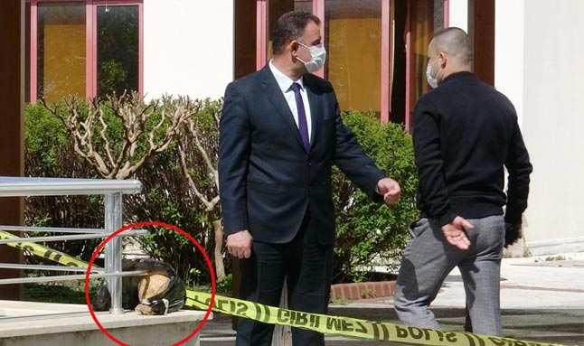 Antalya'da hastane bahçesinde kafatası bulundu