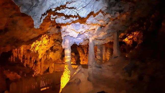 İnsuyu Mağarası'nın gizemli galerileri keşfediliyor