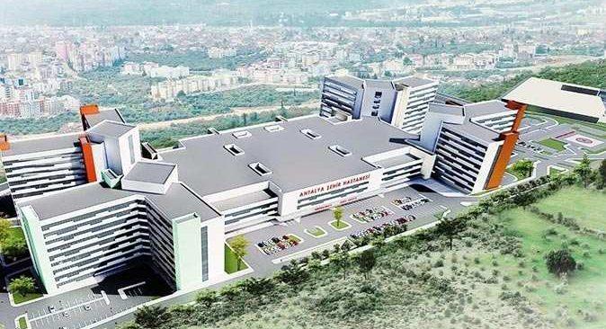 Şehir Hastanesi'nin inşaat çalışmaları başladı