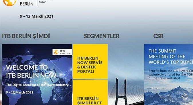 ITB Berlin'in sanal fuarı ilgi görmedi