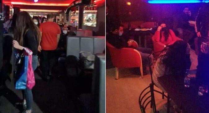 'Yüksek riskli' İzmir'de eğlence mekanlarına koronavirüs baskını