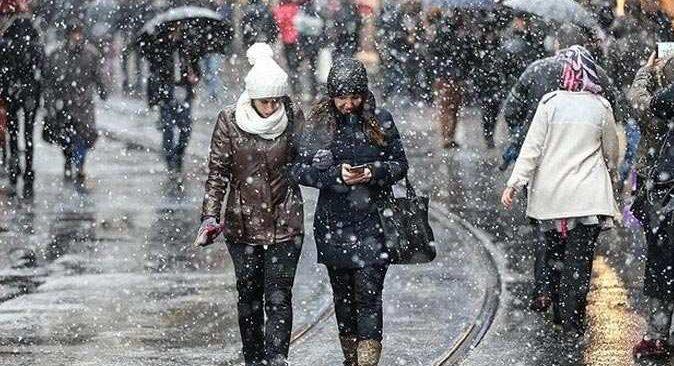 Meteoroloji'den çok sayıda il için yağmur ve kar uyarısı