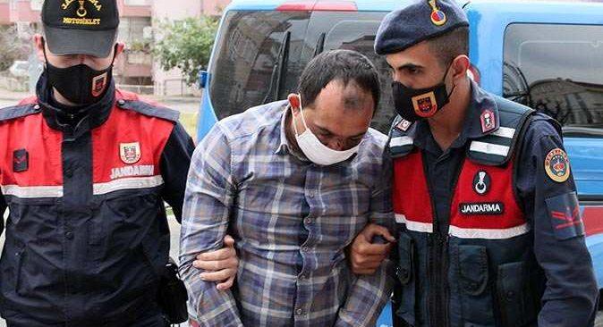Antalya'da annesini katleden Bahadır Aktürk adliyeye getirildi
