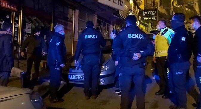 Zonguldak'ta ortalık karıştı! Polis zor ayırdı