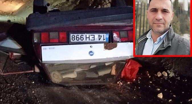 Ankara'da otomobil takla attı! 44 yaşındaki diş hekimi hayatını kaybetti