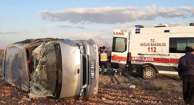 Gaziantep'te feci kaza! Çok sayıda yaralı var