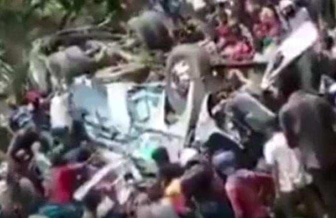 Sri Lanka'da katliam gibi kaza: 14 ölü, 30 yaralı