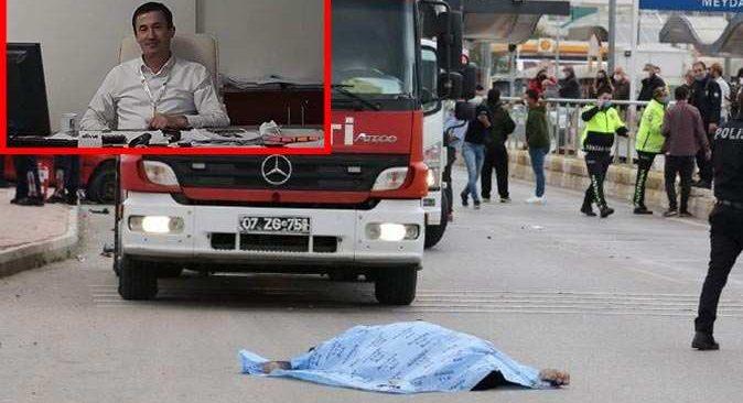 Antalya'da makas dehşeti ASAT çalışanı Hakkı Kök'ü hayattan kopardı