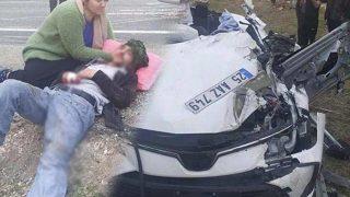 Diyarbakır'da feci kaza: 5 ölü, 3 yaralı!