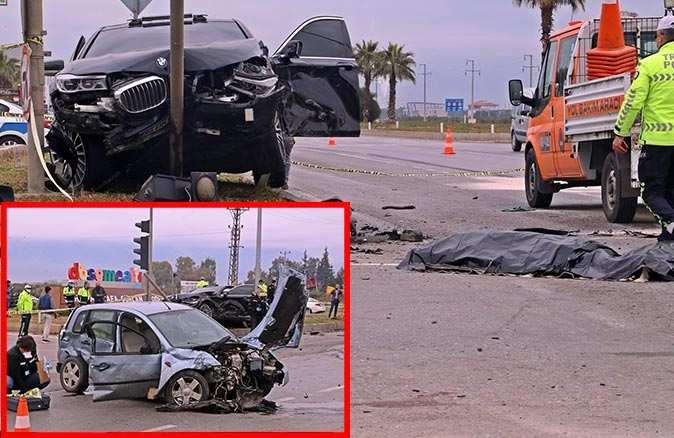 Antalya'daki feci kazada hayatını kaybettiği bilgisi verilen baba hayata tutundu