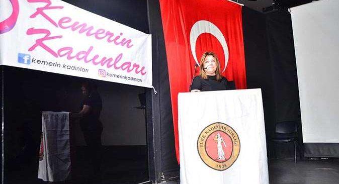 Esra Dağıstanlı: Kemer'deki kadınlarımıza 12 ay boyunca istihdam sağlamak istiyoruz
