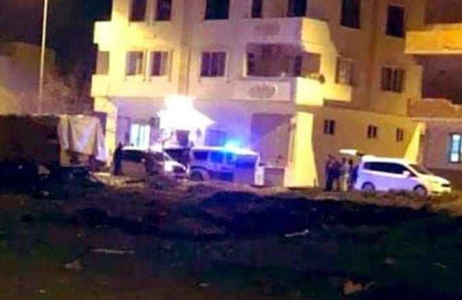 Suriye'den atılan roket Kilis'e düştü!