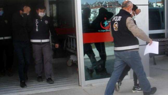 Konya'da çaldılar, Antalya'da satacaklardı! Yakalandılar...