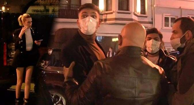 Bebek'te lüks otele baskın! Yakalanınca basın mensuplarına saldırdılar
