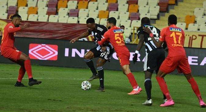 SON DAKİKA! Beşiktaş Malatyaspor'u tek golle geçti