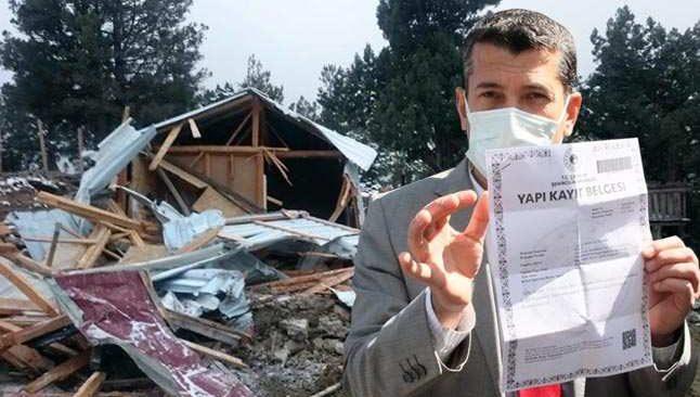 Manavgat'ta yıkım gerginliği