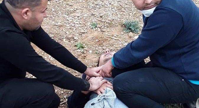 Antalya'da vatandaşlar tarafından yakalandı, ifadesi yürek burktu