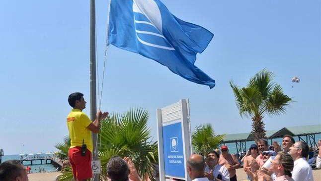 Mavi bayrak rekoru Antalya'da