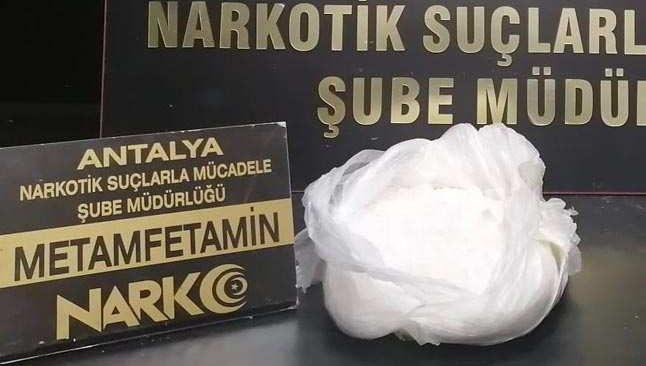 İstanbul'dan Antalya'ya otobüsle uyuşturucu sevkiyatı