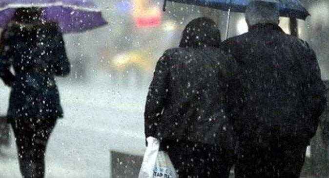 Meteoroloji'den yurt geneli için sağanak yağış uyarısı