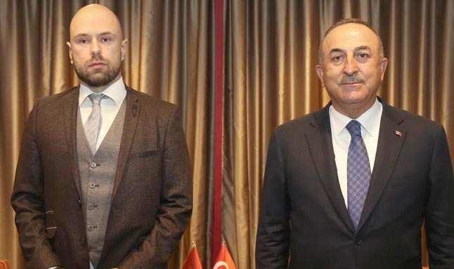 Dışişleri Bakanı Çavuşoğlu, Karadağ'lı mevkidaşı ile görüştü