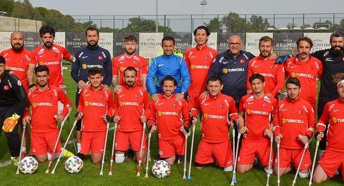 Ampute Milli Takımı'nda hedef Avrupa şampiyonluğu