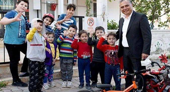 Muratpaşa'nın Yüksekalan'ında çocukları mutlu