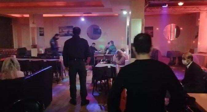 Kapalı olması gereken müzikhole baskın yapıldı: 48 bin 566 lira ceza