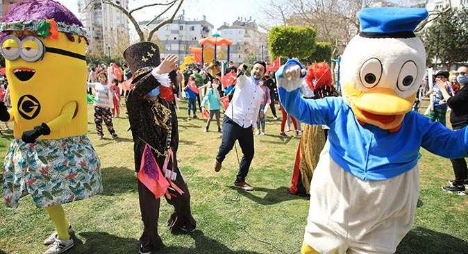 Antalya'da Nevruz Bayramı coşkusu