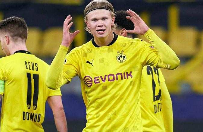 Genç golcü Erling Haaland art arda rekor kırdı