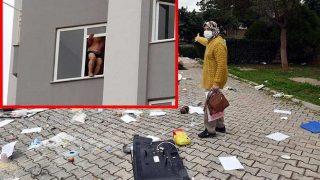 Antalya'da 60 yaşındaki adam önce eşyalarını fırlattı, sonra intihara kalkıştı