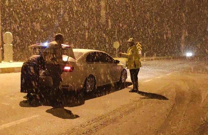 Seydişehir-Antalya karayolunda ulaşım felç oldu! Yol çekici ve tır geçişlerine kapatıldı