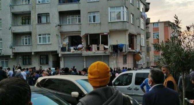 SON DAKİKA! Gaziosmanpaşa'da korkutan patlama
