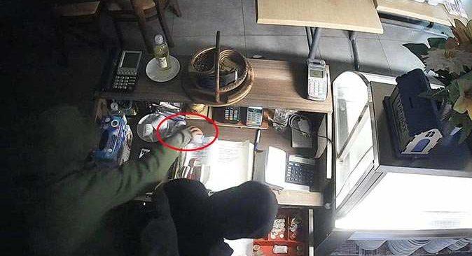 Antalya'da işyeri fareleri kameraya yakalandı! Yaptıkları hareket 'pes' dedirtti