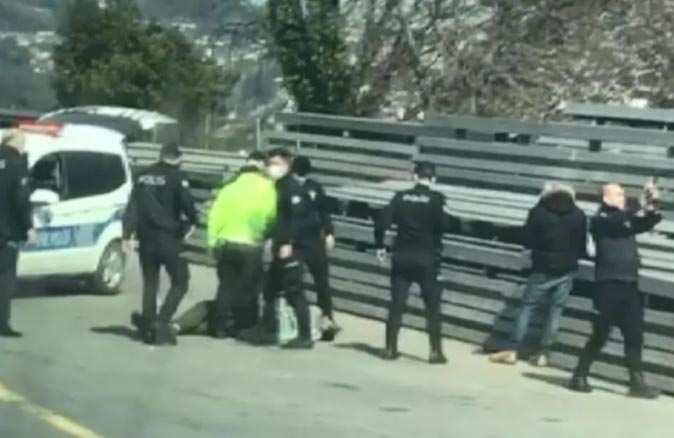İstanbul'da hareketli dakikalar! Polis tarafından etkisiz hale getirildi