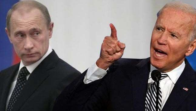 Son dakika! Biden'dan Putin'e zehir zemberek sözler