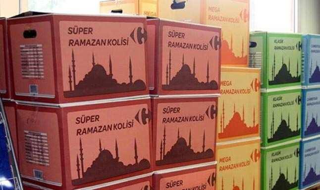 Bu yıl yüzde 35 zamlandı! İşte zincir marketlerin Ramazan kolisi fiyatları